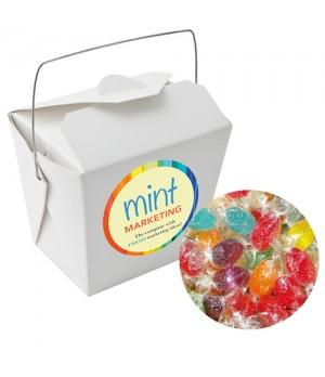 Paper Noodle Box with Mixed Acid Drops