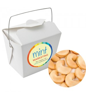 Paper Noodle Box with Fortune Cookies