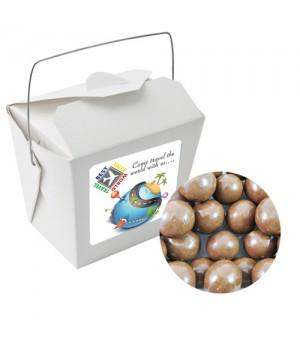 Paper Noodle Box with Malt Balls