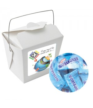 Paper Noodle Box with Mentos