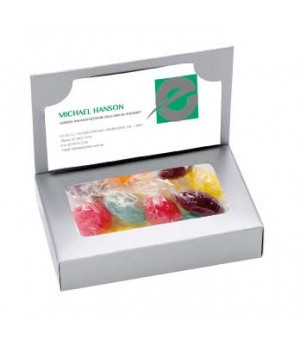 Business Card Box with Mixed Acid Drops