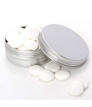 Tin with Flat Mints