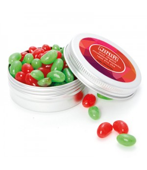 Twist Tin with Single Colour Jelly beans