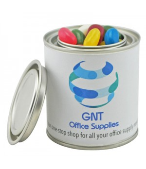 Small Paint Tin with Mixed Jelly Beans