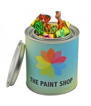 Small Paint Tin with Toffees