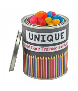 Medium Paint Tin with Mixed Jelly Beans