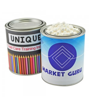 Medium Paint Tin with Mint Drops