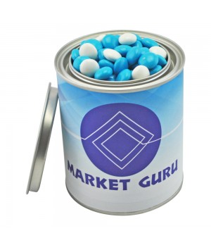 Medium Paint Tin with Chocolate Gems (Corporate Colour)