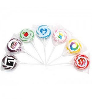 Swirl Lollipop Single Colour _ Small