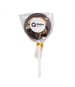 Branded Fruit & Nut Chocolate Lollipop
