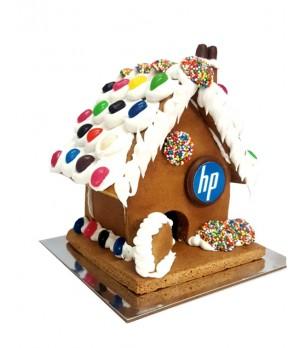 Branded Gingerbread House (Standard) ( MELBOURNE DELIVERY ONLY)