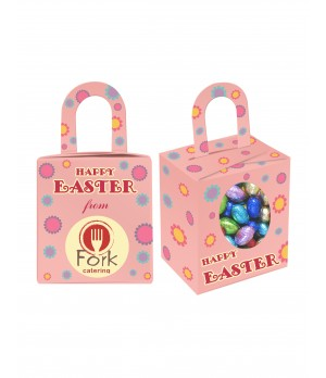 Custom Printed Easter Noodle box with Mini Easter eggs