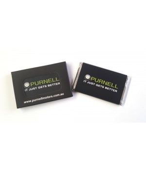 Signature Small Chocolate Bar with a custom printed wrapper and Custom Printed Box