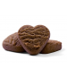 Chocolate Orange Heart Shape Cookie